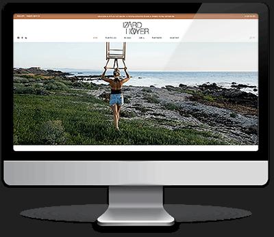 Webdesign i Wordpress - IzardHoyer