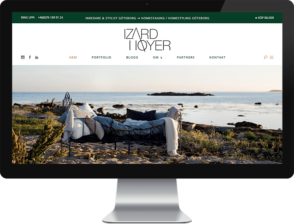 Webdesign - Wordpress - Silkeborg - izardhoyer