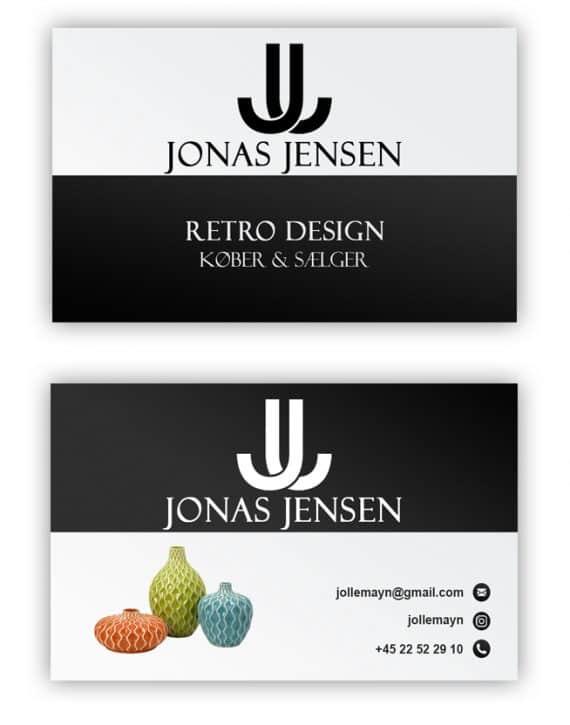 visitkort design 2