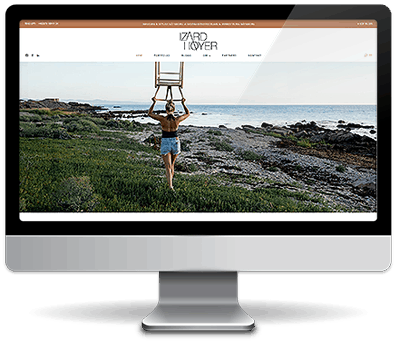 Webdesign i Wordpress - IzardHoyer