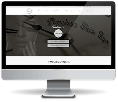 SEO i Wordpress - timeless-skin-spa